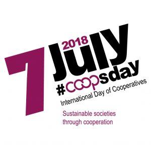 Logo do Dia Internacional das Cooperativas
