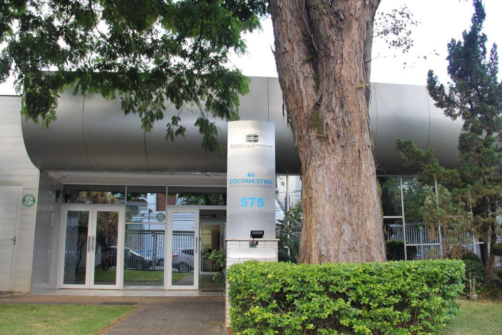 Fachada da Cooperativa dos Anestesiologistas de Minas Gerais - Coopanest-MG